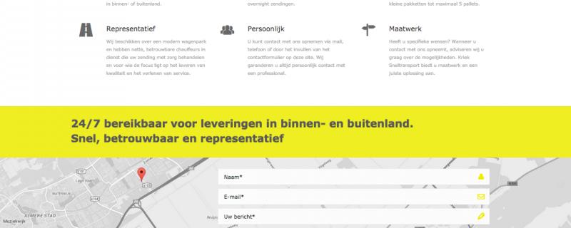 Nieuwe website online